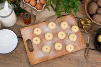 Silesian potato dumplings