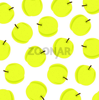 Much yellow apples