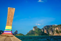 Cruising on a sea in Thailand