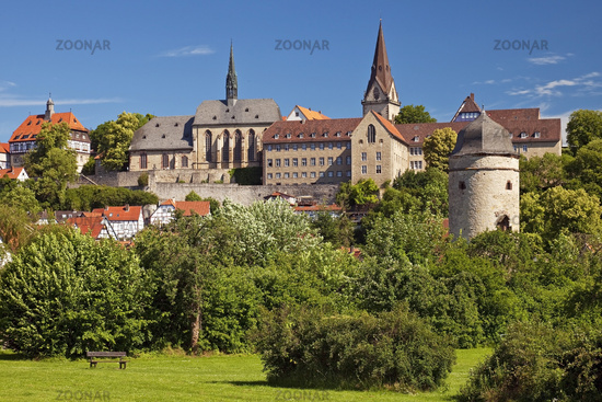 medieval old city of Warburg, East Westphalia, North Rhine-Westphalia, Germany, Europe