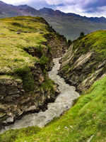 Creek near Obergurgl, Hohe Wut, Oetztal, Austria