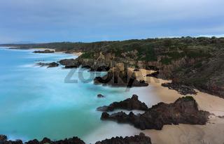 Views overthe coast  Bingie NSW Australia