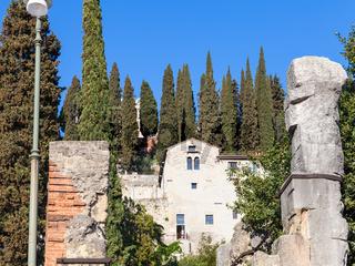 Museum of Archaeology in Roman Theatre in Verona