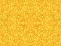 Yellow background with abstract pattern