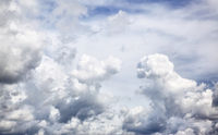 Panoramic view of clouds