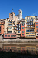Riverside Houses in Old Town of Girona