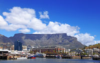 Table Mountain, view from the Waterfront, Cape Town, South Africa