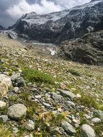 Glacier at Hohe Wut, Obergurgl, Oetztal, Austria
