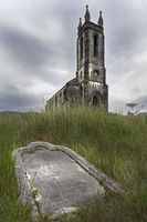 Dilapidated church Dunlewy, County Donegal, Ireland, Europe