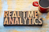 real time analytics wood type