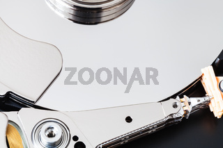 surface of internal 3.5-inch sata hard disk drive