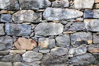 Backgound of natural stones as wall