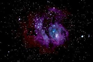 Lagunennebel M 8 - Lagoon Nebula - NGC 6523