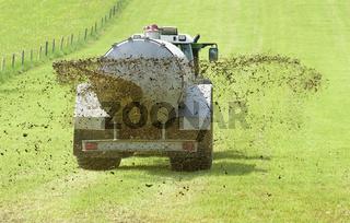 Odel, Gülle oder Jauche in der Landwirtschaft