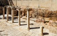 Old city of Jerusalem in Israel.