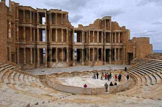 Römisches Amphitheater, Sabratha, Libyen