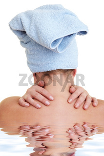 Rücken massieren