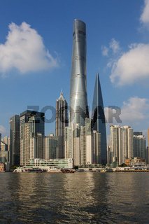 SHANGHAI TOWER, 632m