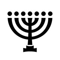 Menorah (ancient Hebrew sacred seven-candleholder)
