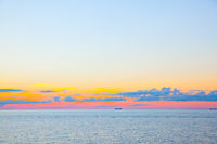 Sundown - beautiful seascape