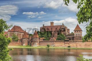 Ordensburg Marienburg, Polen | Malbork Castle, Poland