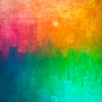 abstract cityscape background