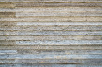 weathered wood siding of abandoned farm house