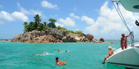 Smal Island of St. Pierre at the Seychelles