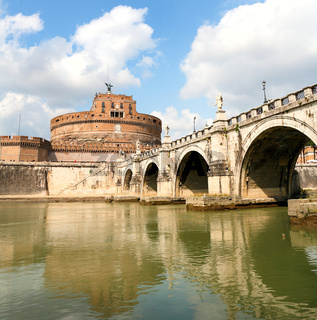 The fortress of Sant'Angelo - Rome