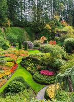 Sunken Garden - the central part