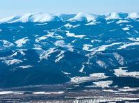 Winter mountain landscape.