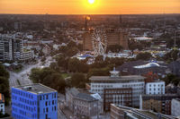 ferris wheel in Hamburg
