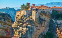 The Varlaam monastery in Meteora