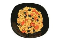 Mediterranean Style Vegetarian Lunch
