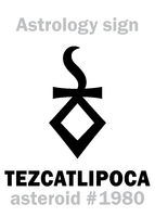 Astrology: asteroid TEZCATLIPOCA
