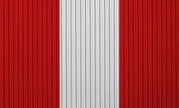 Fahne auf Wellblech - Flag on corrugated iron