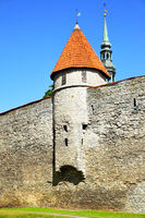 City walls of Tallin