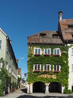 Town hall of Isny im Allgäu