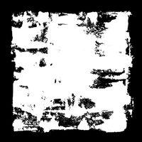 White square frame
