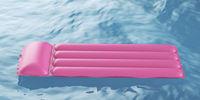 Pink pool raft