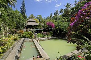 Obyek Wisata, Air Panas Banjar, Thermalwasserbad auf Bali