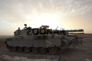 Merkava Mk 4 Baz Main Battle Tank