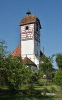 church, half-timbered; Germany;
