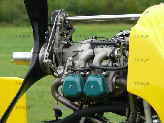 Photo Gyrocopter Motor Image #1832137