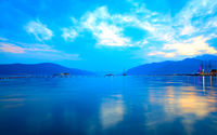 The Bay of Kotor near Tivat