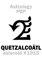 Astrology: asteroid QUETZALCOATL