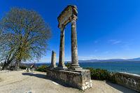 Roman Corinthian column from Noviodunum