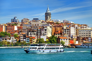 Cityscape of Istanbul
