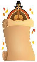 Thanksgiving theme parchment 8