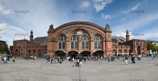 Bremen, Germany, Central Station